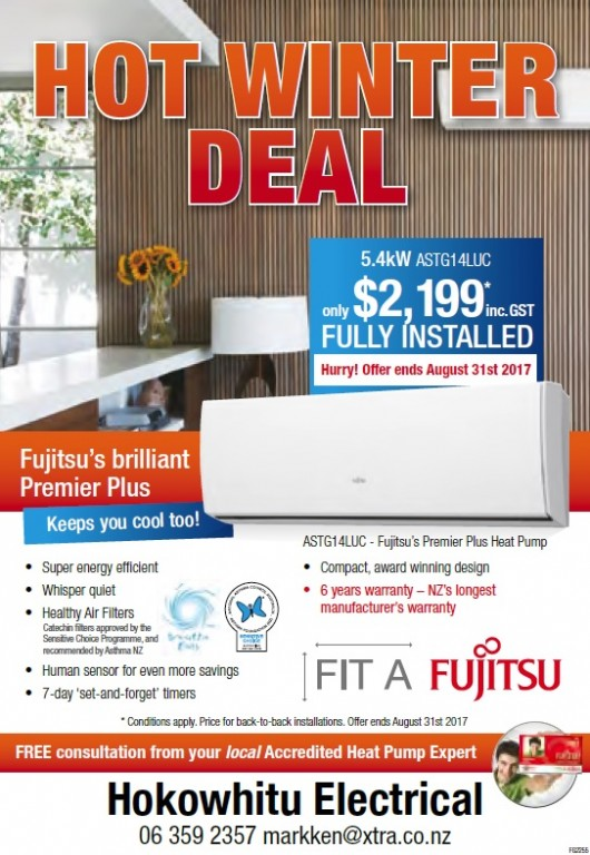 Fujitsu's Hot Winter Deal